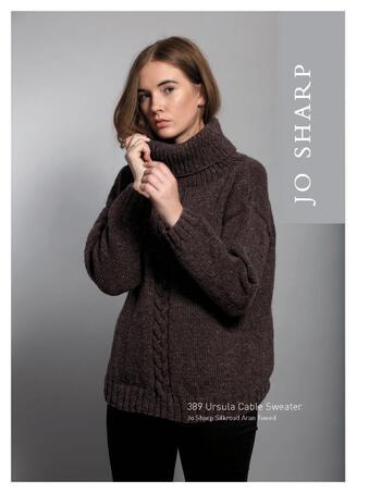 Knitting patterns Jo Sharp Ursula Cable Sweater - Pattern