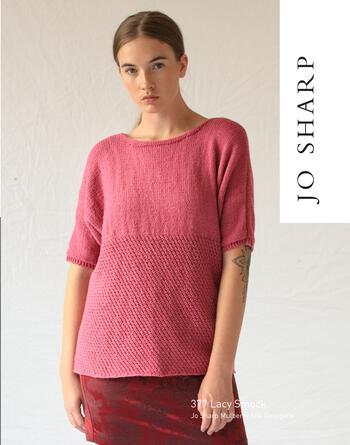 Knitting patterns Jo Sharp Lacy Smock - Pattern