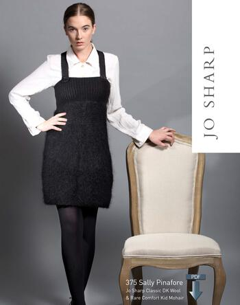 Knitting patterns Jo Sharp Sally Pinafore - Pattern Download
