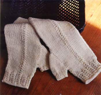 Knitting patterns Swans Island Aspen Mitts - Pattern Download