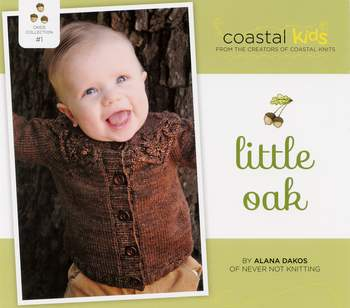 Knitting patterns Coastal Kids Little Oak Cardigan