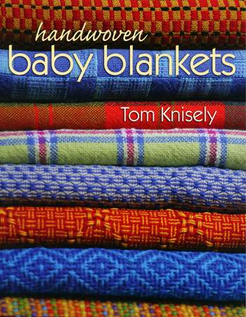 Weaving books Handwoven Baby Blankets