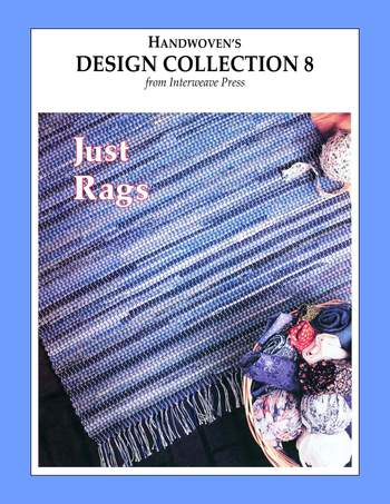 Weaving books Design Collection Number 8 - Just Rags -Handwoven eBook Printed Copy