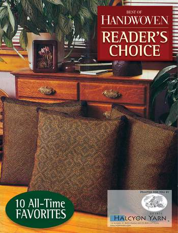 Weaving books Reader's Choice - Top Ten Projects from 30 Years of Handwoven -Handwoven eBook Printed Copy