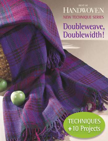 Weaving books Best of Handwoven - Doubleweave, Doublewidth! - Handwoven eBook Printed Copy SALE!