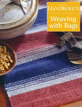 Weaving books Best of Handwoven - Weaving with Rags -Handwoven eBook Printed Copy