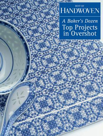 Weaving books Best of Handwoven - A Baker's Dozen: Top  Projects in Overshot - Handwoven eBook Printed Copy