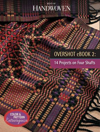 Multi-Craft books Overshot eBook 2: 14 Projects On Four Shafts- Handwoven eBook Printed Copy