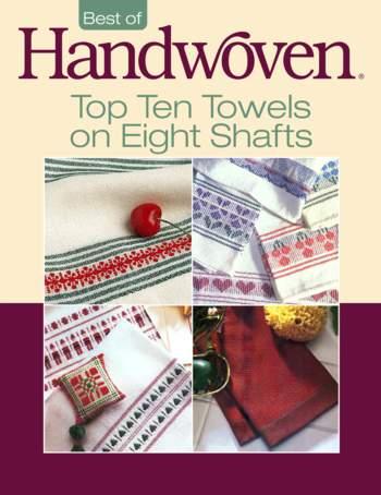 Weaving books Best of Handwoven: Top Ten Towels on Eight Shafts -Handwoven eBook Printed Copy