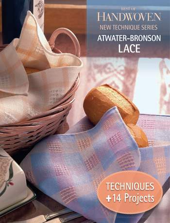 Weaving books Best of Handwoven: Atwater - Bronson - Handwoven eBook Printed Copy