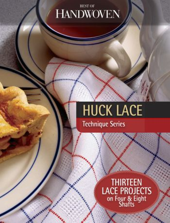 Weaving books Huck Lace Best of Handwoven- eBook Printed Copy