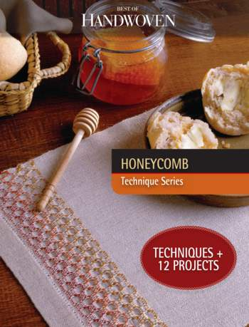 Weaving books Best of Handwoven Honeycomb - Technique Series - eBook Printed Copy