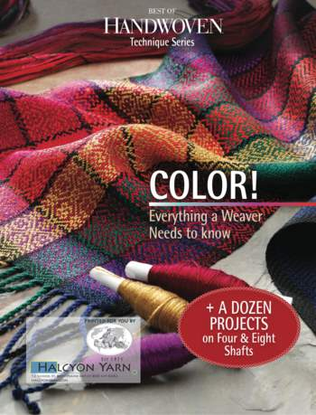 Weaving books Best of Handwoven Color - Technique Series - eBook Printed Copy