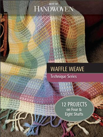 Weaving books Best of Handwoven: Projects in Waffle Weave - eBook Printed Copy