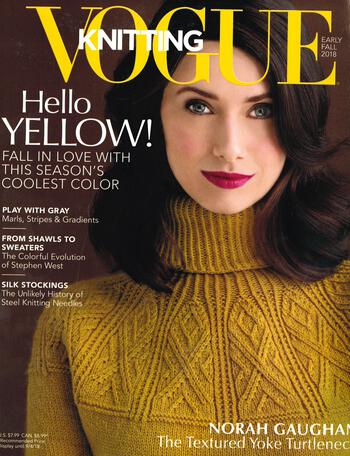Knitting magazines Vogue Knitting Early Fall 2018
