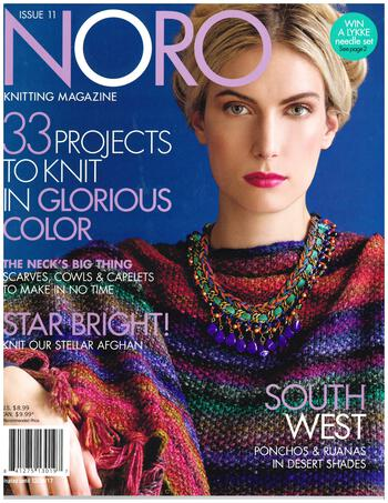 Multi-Craft magazines Noro Knitting Magazine Fall/Winter 2017 Issue 11