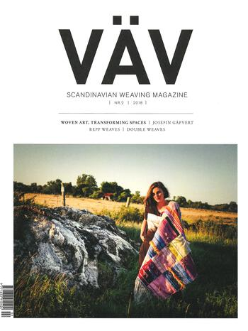 Weaving magazines Vav Magasinet 2/18