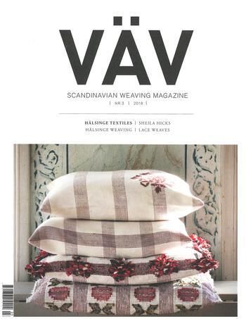 Weaving magazines Vav Magasinet 3/18
