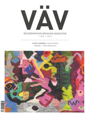 Weaving magazines Vav Magasinet 4/18