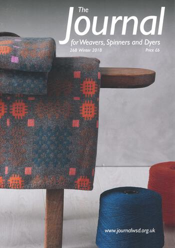 Weaving magazines The Journal of Weavers, Spinners and Dyers -UK - Issue 268, Winter 2018