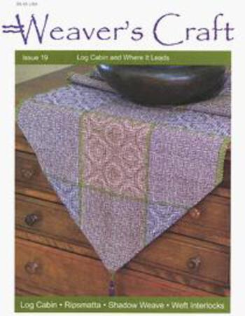 Weaving magazines Weaver's Craft Issue 19