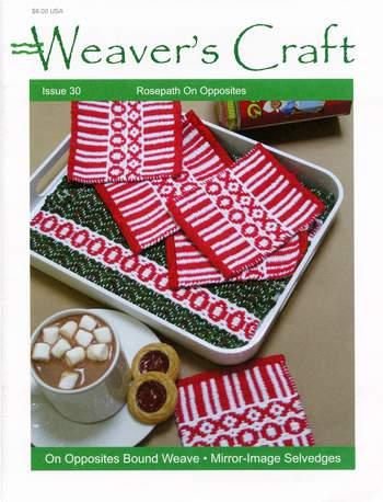 Weaving magazines Weaver's Craft Issue 30