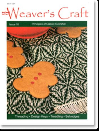Weaving magazines Weaver's Craft Issue 18