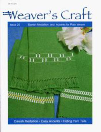 Weaving magazines Weaver's Craft Issue 20
