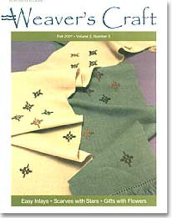 Multi-Craft magazines Weaver's Craft Fall 2001 Issue 9