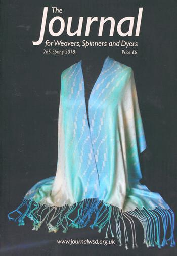 Weaving magazines The Journal of Weavers, Spinners and Dyers -UK - Issue 265, Spring 2018