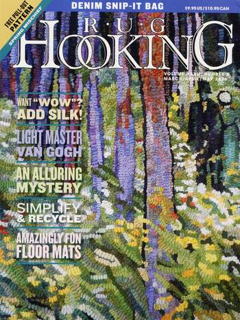 Rug Making magazines Rug Hooking March/April/ May 2016