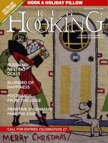 Rug Making magazines Rug Hooking Nov/Dec 2016