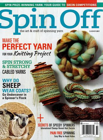 Spinning magazines Spin Off Summer 2017