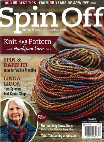 Spinning magazines Spin Off Fall 2017