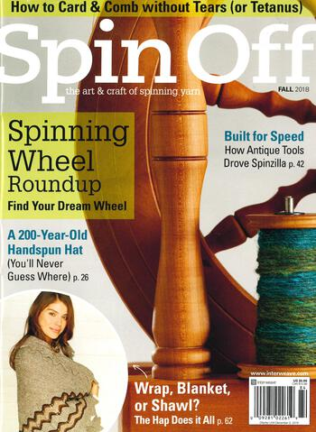 Spinning magazines Spin Off Fall 2018