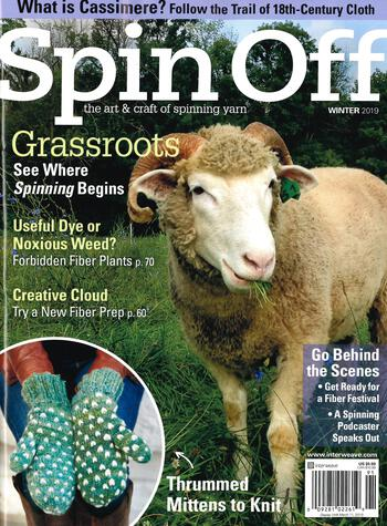 Spinning magazines Spin Off Winter 2019