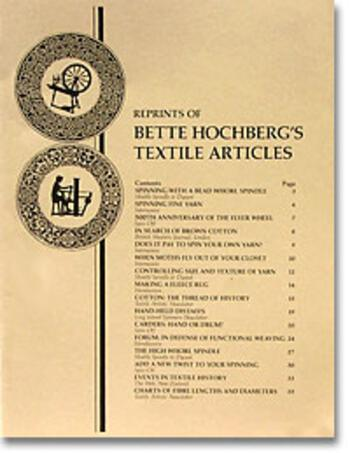 Multi-Craft books Bette Hochberg's Textile Articles