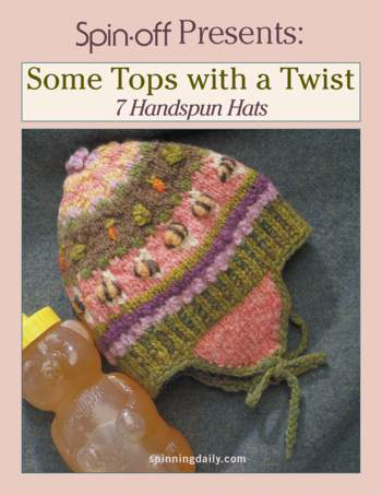 Spinning books Spin-Off Presents: Some Tops with a Twist: 7 Handspun Hats - eBook Printed Copy