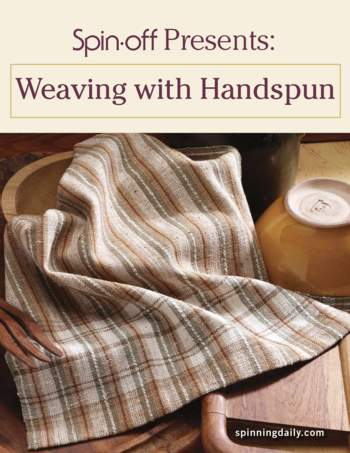 Spinning books Spin-Off Presents: Weaving with Handspun - eBook Printed Copy