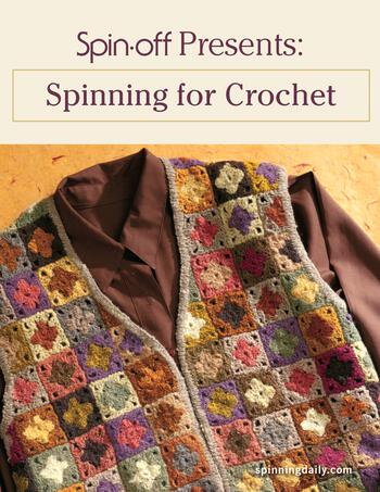 Spinning books Spin-Off Presents: Spinning for Crochet - eBook Printed Copy