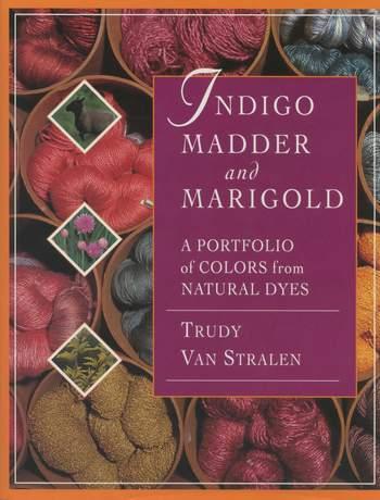Dyeing books Indigo, Madder and Marigold