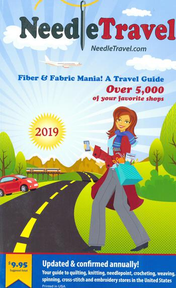 Multi-Craft books Needle Travel - Fiber and Fabric Mania! A Travel Guide 2019