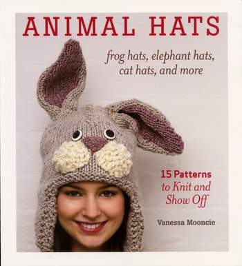 Knitting books Animal Hats - frog hats, elephant hats, cat hats, and more