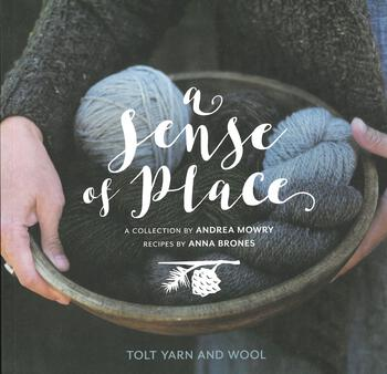 Knitting books A Sense of Place
