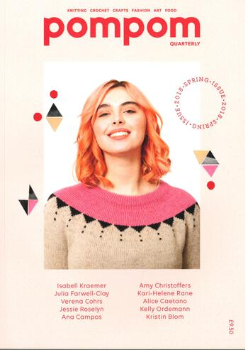 Knitting magazines pompom Quarterly Spring 2018