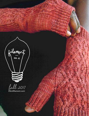 Knitting magazines Filament No. 4 Fall 2017