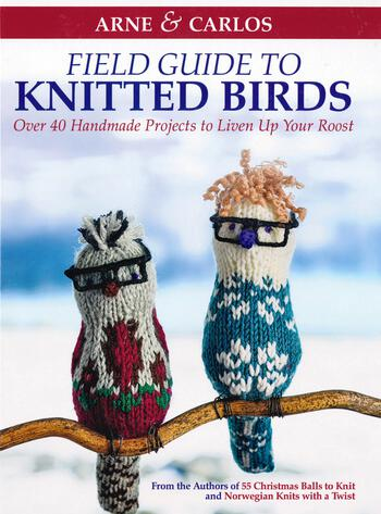 Knitting books Field Guide to Knitted Birds