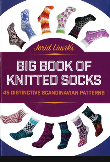 Knitting books Jorid Linvik's Big Book of Knitted Socks