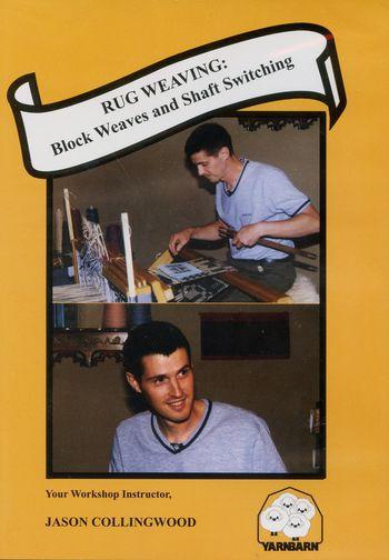 Weaving cd-dvd DVD Rug Weaving: Block Weaves and Shaft Switching