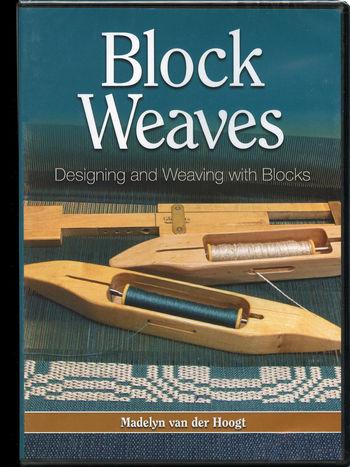 Weaving cd-dvd DVD: Block Weaves - Designing and Weaving with Blocks